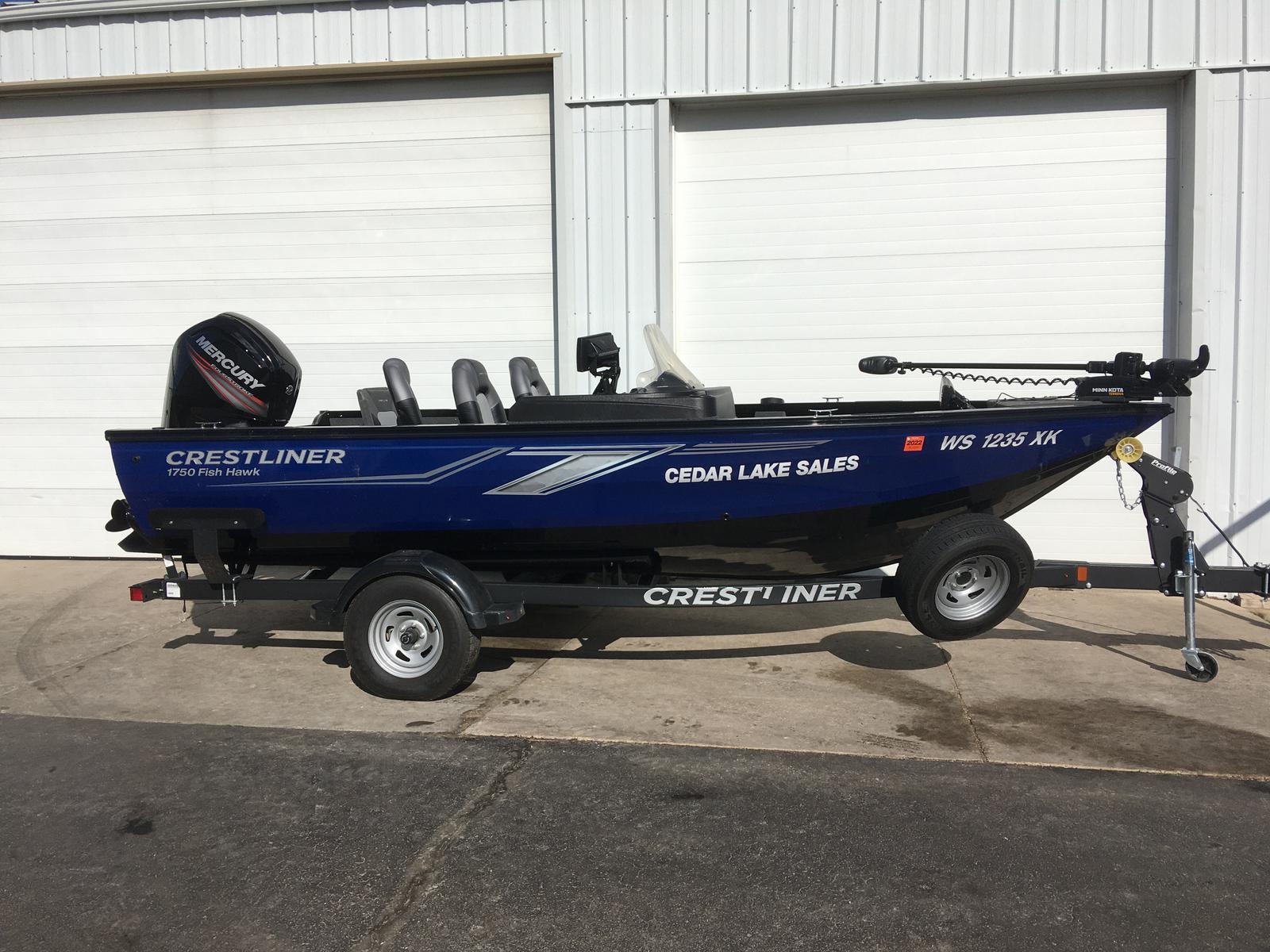 Crestliner 1750 Fish Hawk SC JS