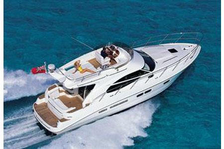 Sealine F42/5 Manufacturer Provided Image: Running Shot