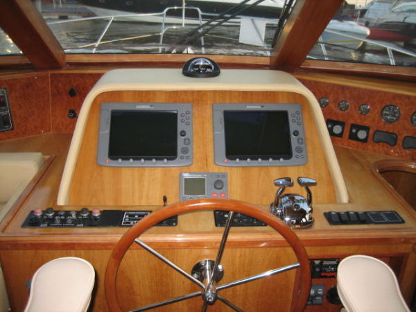Pilothouse Helm