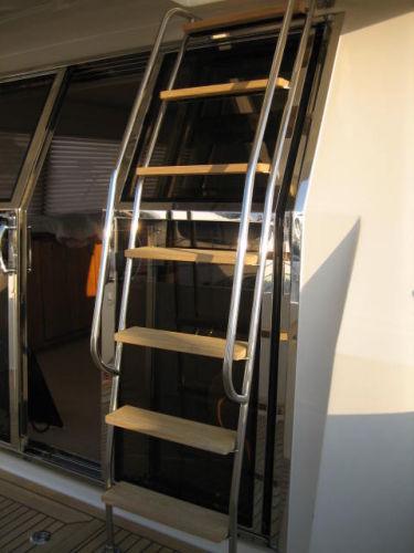 Stainless Ladder to Bridge