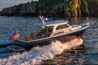 Back Cove Boat image