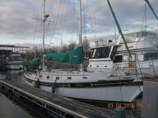 Bayfield 40 Cutter, Ketch