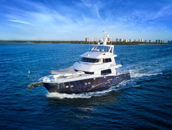 Nordhavn 75 Expedition Yachtfisher Exterior - Running