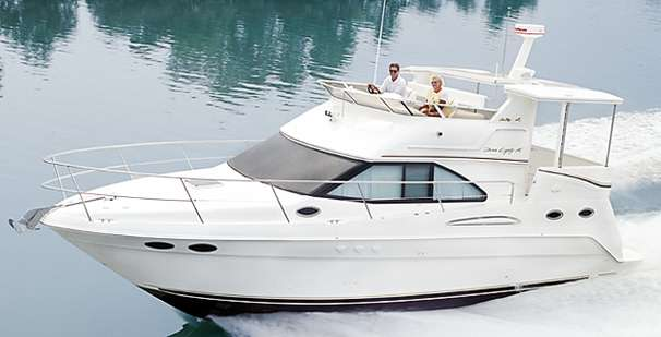 Sea Ray 380 Aft Cabin Manufacturer Provided Image