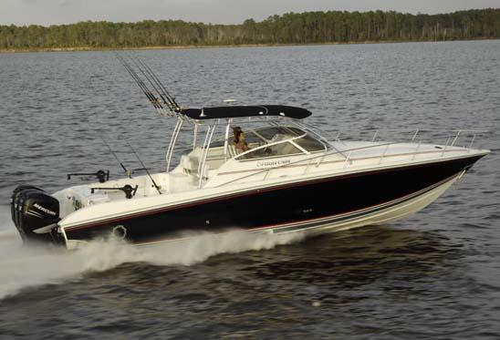 Fountain 38 Sportfish Cruiser OB Manufacturer Provided Image