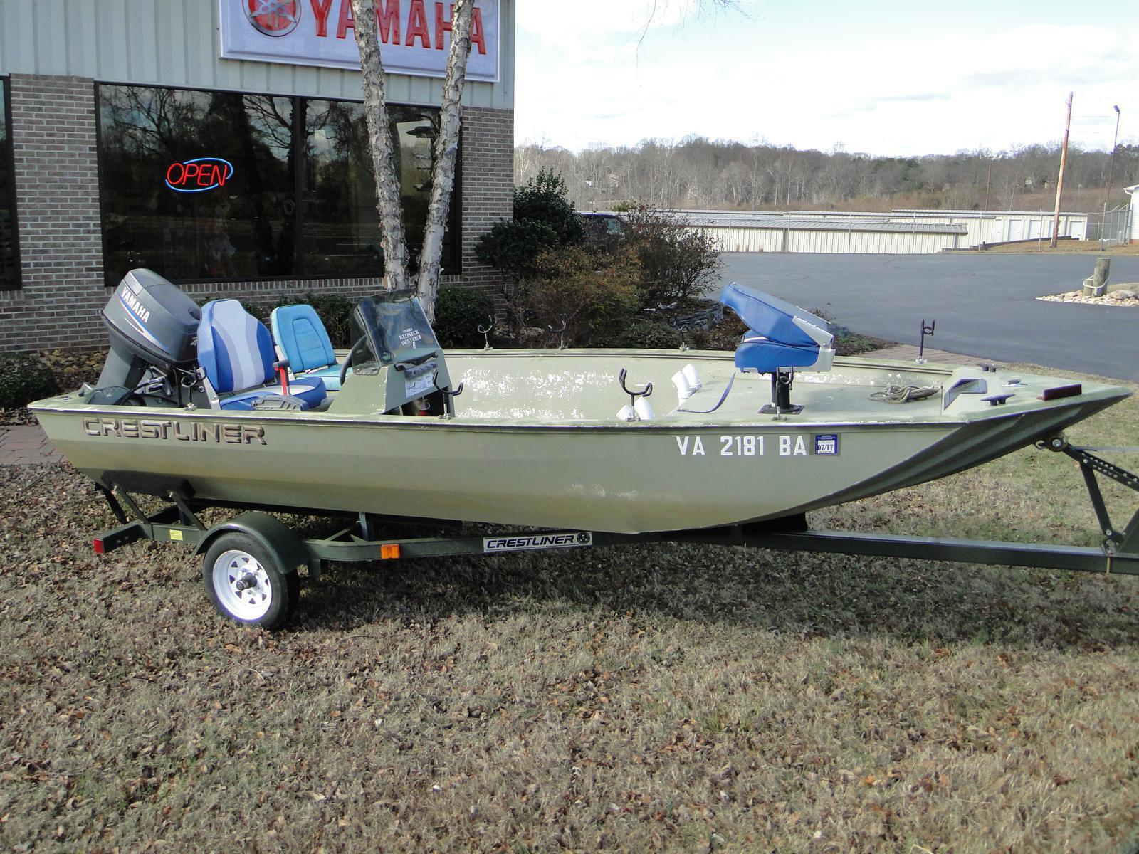 Used crestliner boats for sale 5 for Crestliner fish hawk