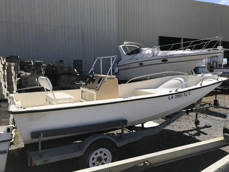 McKee Craft 17 Center Console HULL & TRAILER ONLY