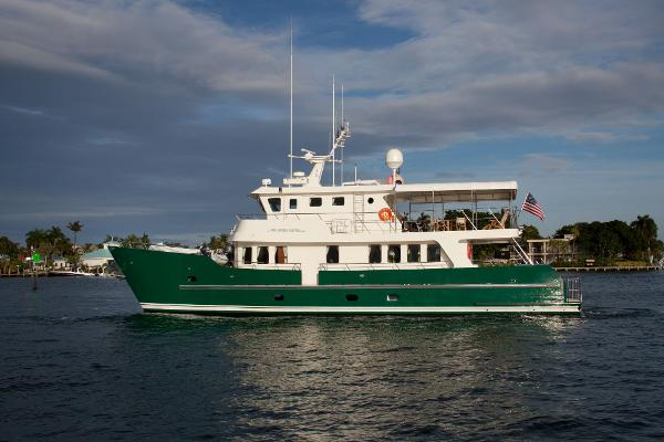 Cape Horn 81 Expedition Yacht Profile