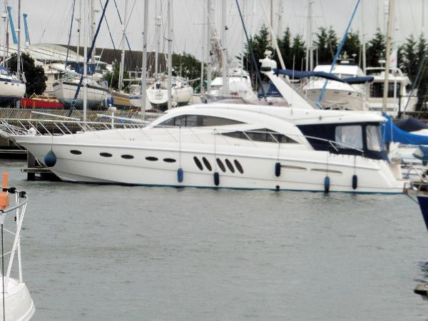 Sealine T60 Currently in the water