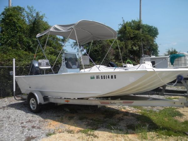 21' Polar Craft Aluminum Skiff