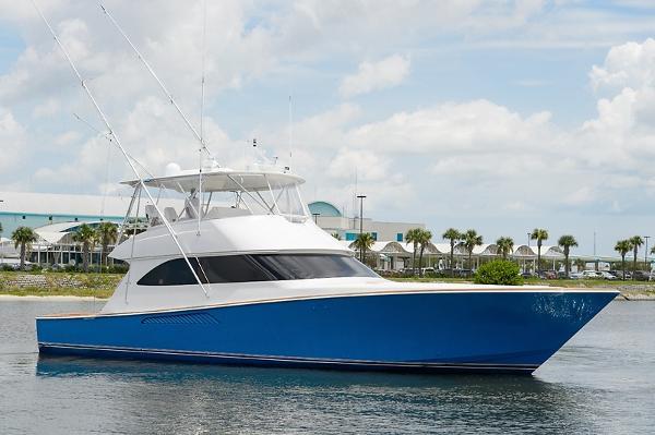 Viking 60 Convertible Starboard Profile