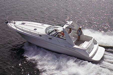 Sea Ray 400 Sundancer Manufacturer Provided Image