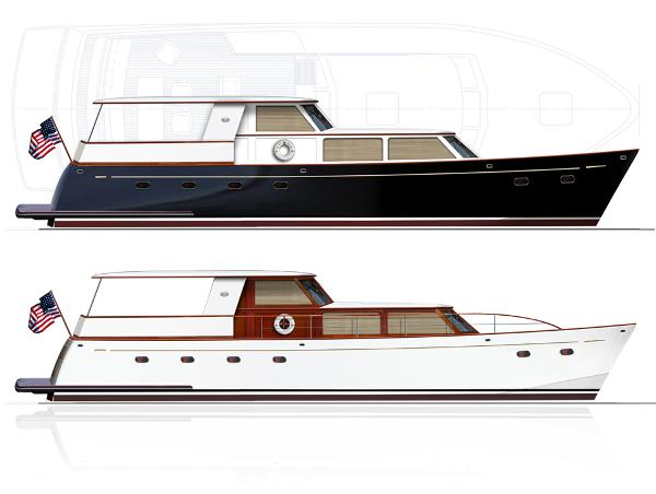 Reliant 55' Classic Motor Yacht Reliant Classic 55