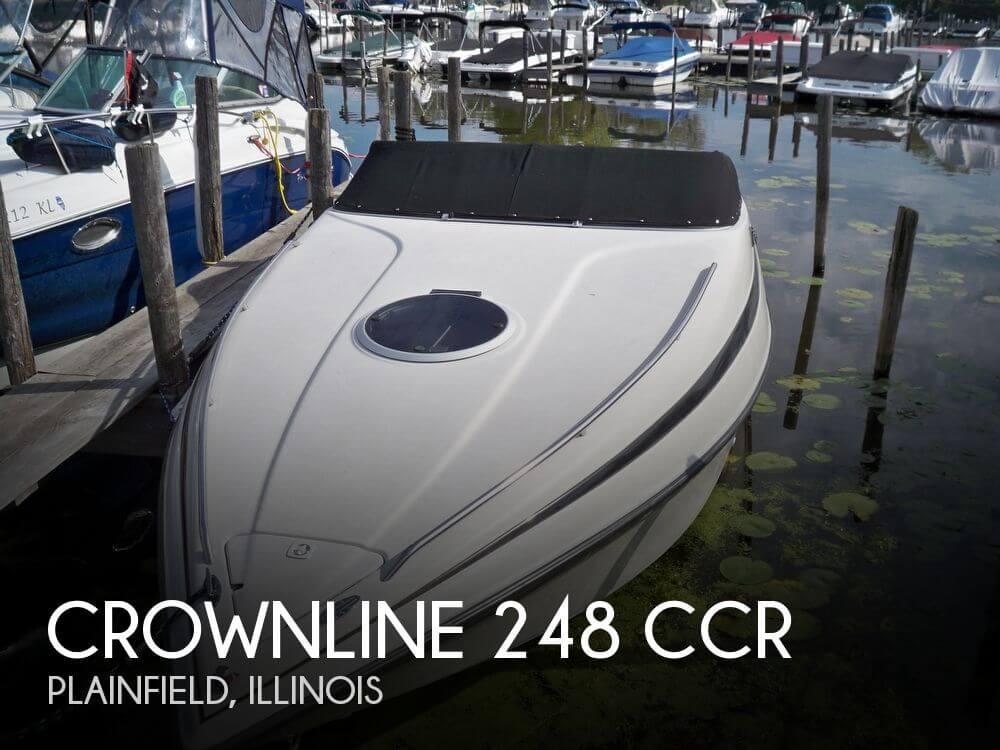 Crownline 248 CCR 1998 Crownline 248 CCR for sale in Plainfield, IL