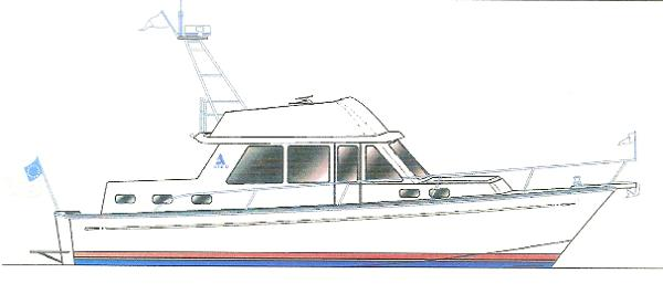 Albin North Sea Cutter The New 43' 2014 Albin North Sea Cutter