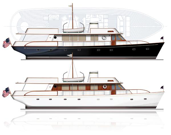 Reliant 75' Classic Motor Yacht Reliant 75