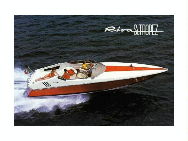 Riva 350 Red St. Tropez Profile