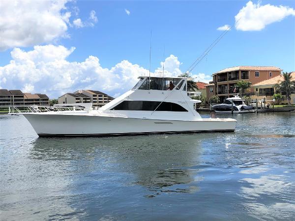 Ocean Yachts 66 SS Enclosed Bridge Main Profile