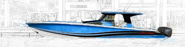 Nor-Tech 450 Sport Center Console Select your own paint layout