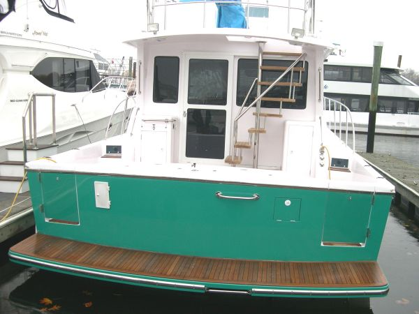 Twin Transom Doors