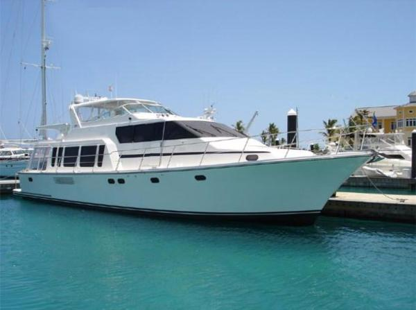 Pacific Mariner Raised Pilothouse Motoryacht Profile