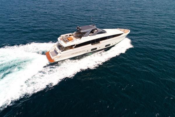 """Ferretti Yachts 960 2016 Ferretti Yachts 960 ''Queen B"""" - Profile"""
