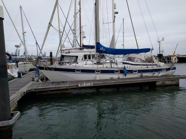 Hallberg-Rassy 38 Home berth.