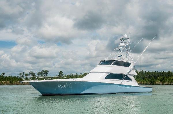 Viking 74 Convertible Port Profile