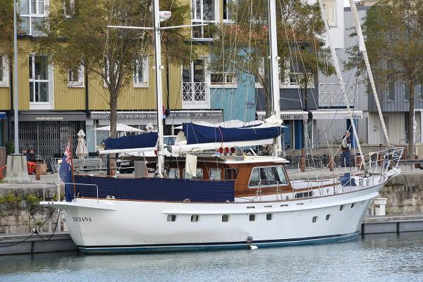 Porsius 65' Ketch Motorsailer Trawler Motorsailer Triciana