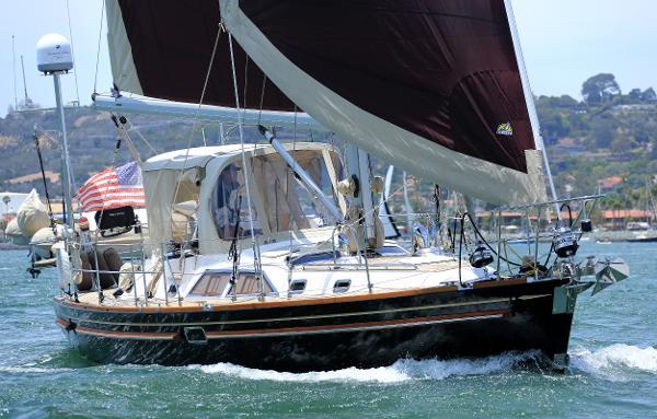 Hylas 46 Feather Under Sail