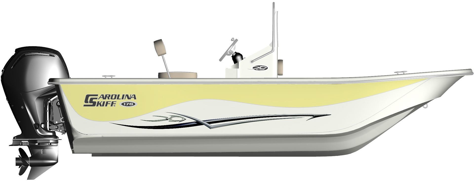Carolina Skiff DLV 178