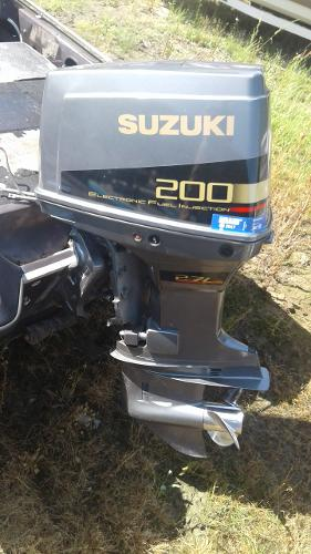 Suzuki 200 HP Motor Only