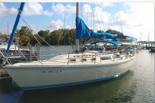 Catalina 34 At the Dock