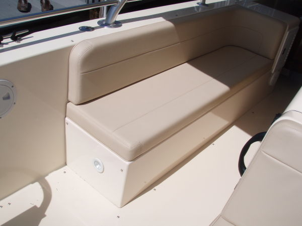 faux marine leather seating