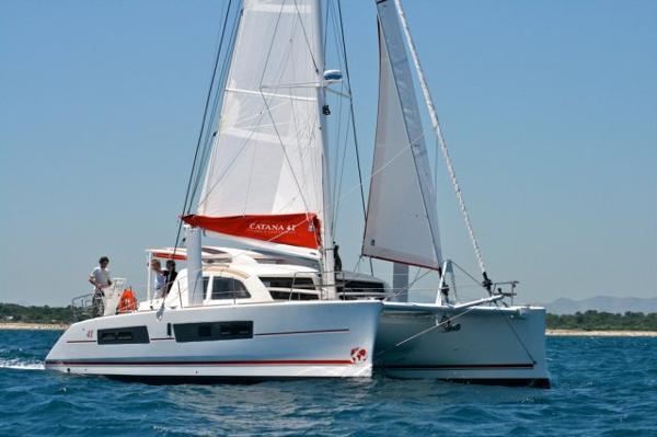 Catana 42 Side View