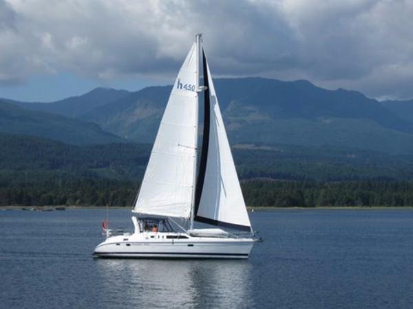 Hunter Passage 450 Sails Deep Bay