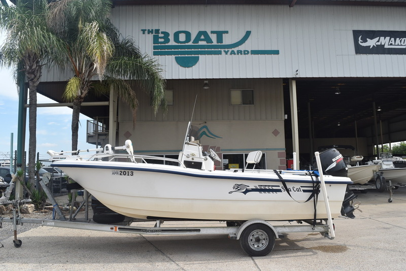 Sea Cat 18 Center Console