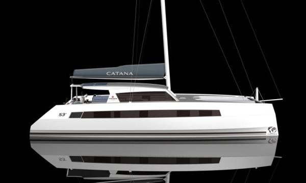 Catana 55 Side View