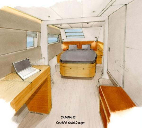 Catana 55 Cabin