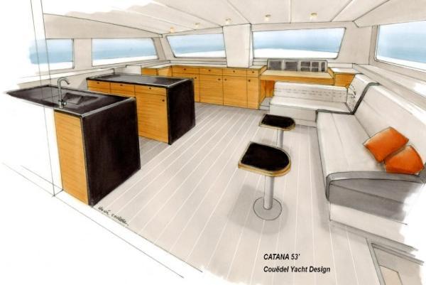 Catana 55 Interior