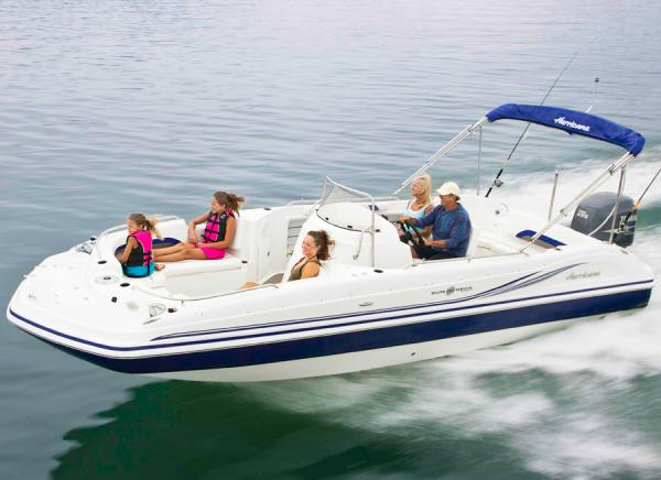 Hurricane SunDeck Sport 231 OB Manufacturer Provided Image