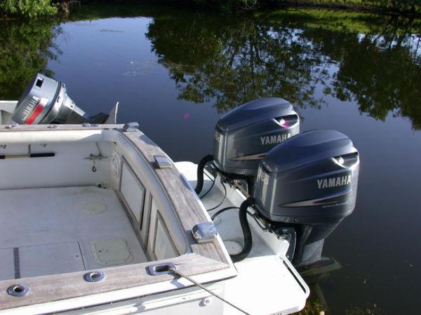 Twin Outboard Yamaha 2003