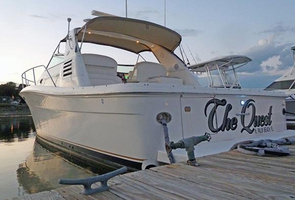 Sea Ray Diesel Amberjack 340
