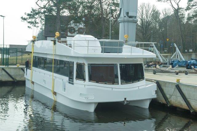 Hausboot Nordic Ocean 50 fuss KatamaranHausboot