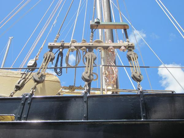 Steel Gaff-rigged Ketch - Rigging