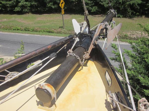 Steel Gaff-rigged Ketch - Bowsprit