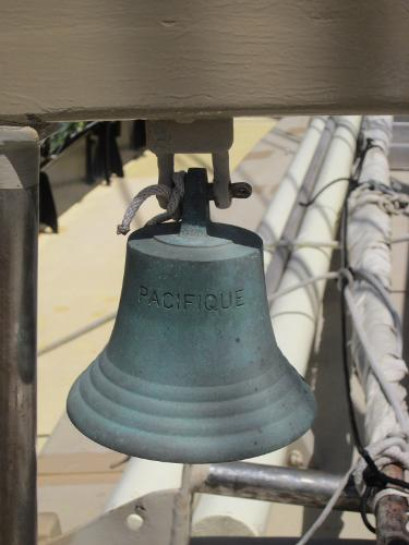 Steel Gaff-rigged Ketch - Ship's bell