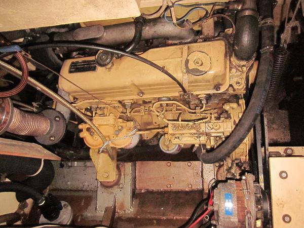 Steel Gaff-rigged Ketch - Engine