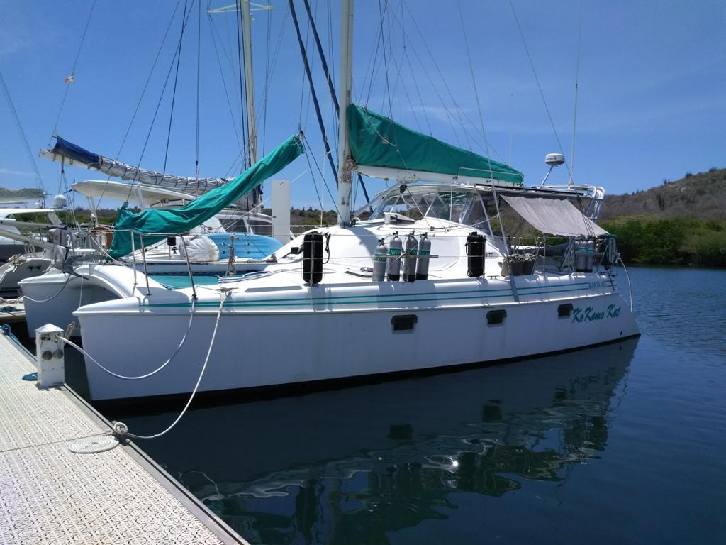 Endeavour 40 Manta Sail Catamaran KoKomo Kat