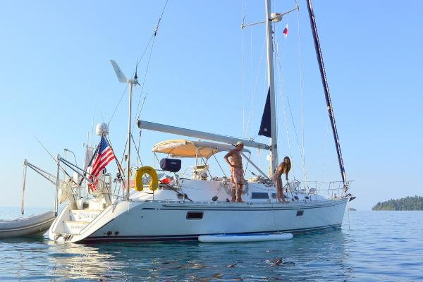 Hylas 46 Anchored